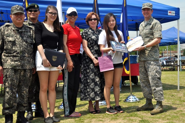 Korean students get taste of American life through USFK Good Neighbor English Camp