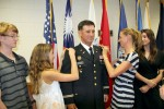 Travis Cornett promoted to lieutenant colonel