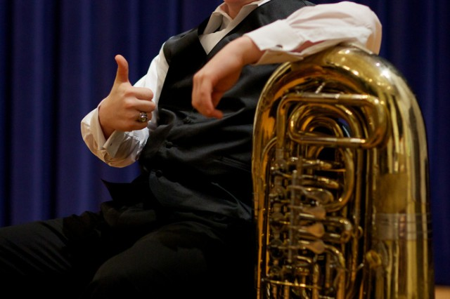 Eric William Black, a South Hill Virginia Native and junior at Park View High School, won the 2012 Young Artist Competition on April 27 at Fort George G. Meade, Md.  Black was amongst three finalists selected to perform in front of The United States Army Field Band panel.