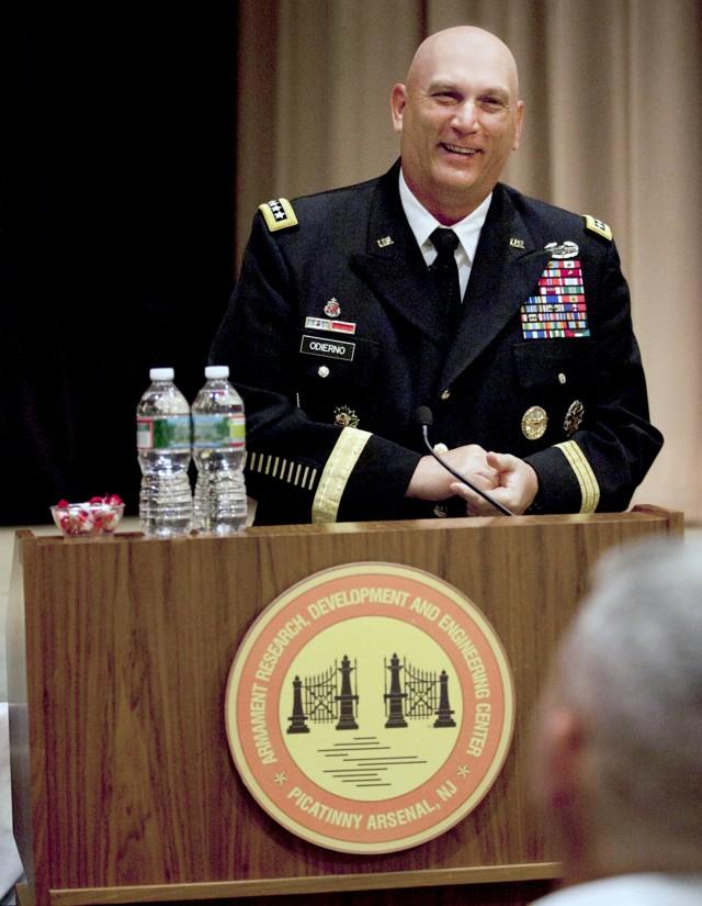 Gen. Ray Odierno at Picatinny Arsenal