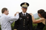 Commissioning an infantry officer