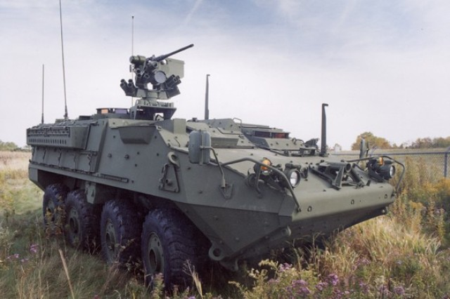 The Program Executive Office for Ground Combat Systems - Stryker Brigade Combat Team, won both the Secretary of the Army and Secretary of Defense team awards for Environmental Excellence in Weapons System Acquisition.