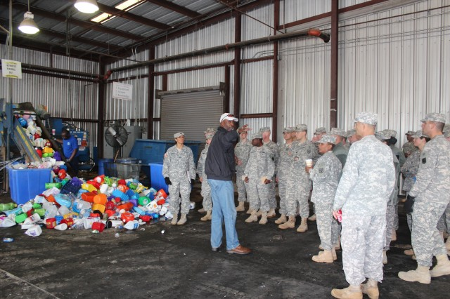 The Recycle Team's commitment to educate, provide quality service, and process all material collected and received resulted in the team exceeding its sales goal in FY10 and FY11 to generate a total of $2.8 million. During FY10 and FY11, the Team generated $4.12 million. Money generated from recycling pays for the program, capital improvements and other community projects, such as Freedom Fest fireworks, Welcome Home celebrations, carnivals, and the annual Earth Fest, and pollution prevention projects.
