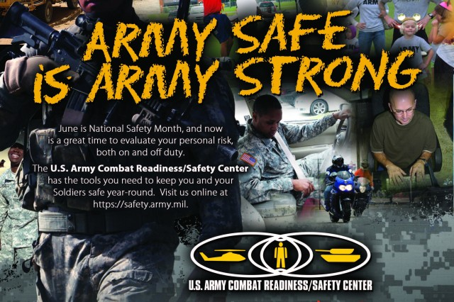 June 2012 is National Safety Month