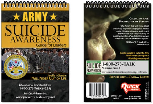 Dempsey: Military must persevere to solve suicide issue