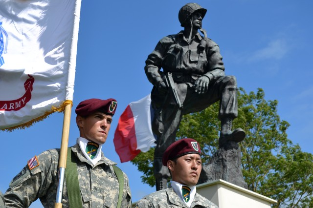 Warriors of yesterday, today commemorate D-Day together