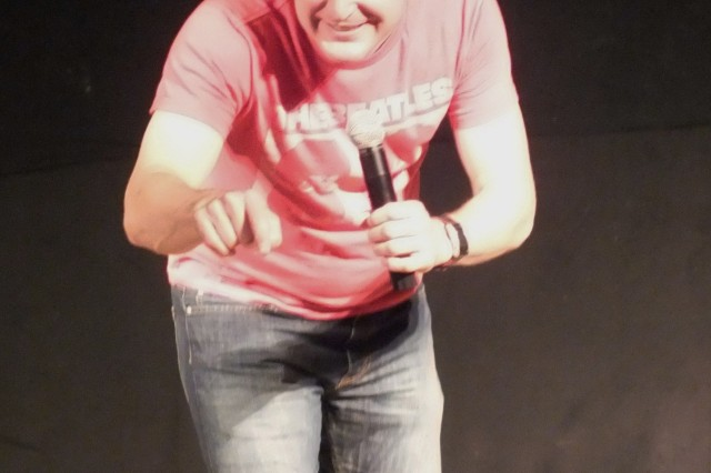 Johnny Cardinale returns to Hohenfels with the Lights Out Comedy tour, May 19, featuring some of the hottest young comedians in the country.