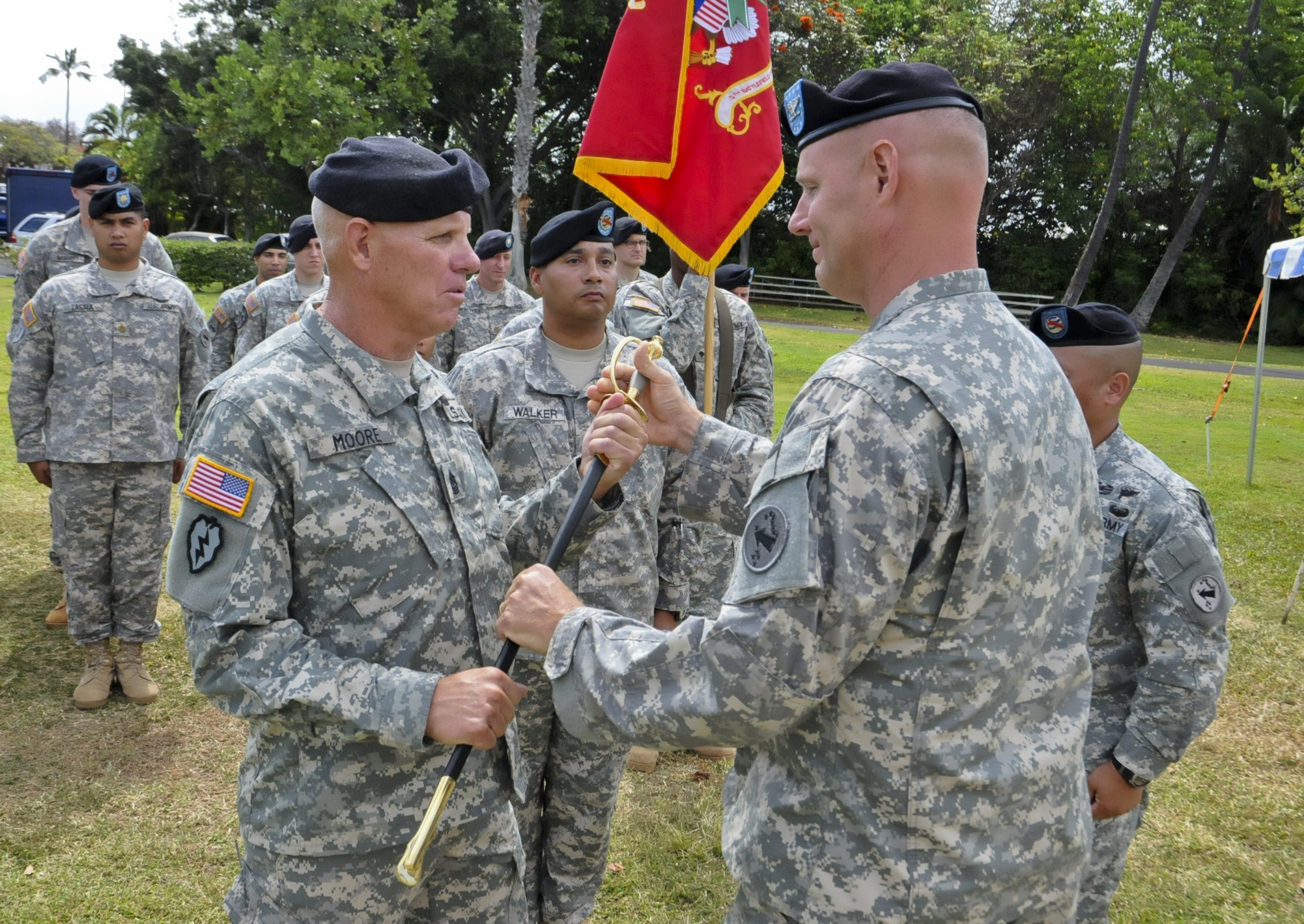 responsibility in the army for a The duties, job description and benefits of being an officer in the us army are comparable to those of any manager in the private sector people who occupy.