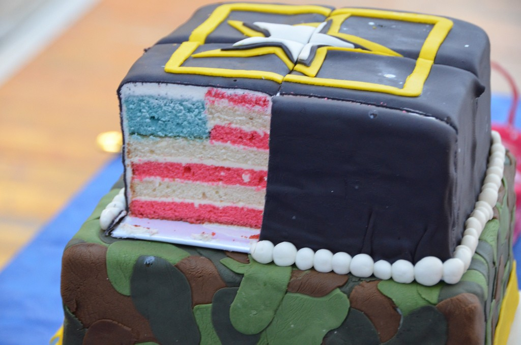 Cake steals the show at Darbys Army birthday celebration Article