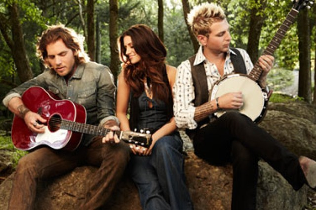 Members of Gloriana Tom Gossin, Rachel Reniert and Mark Gossin will open the Army Concert Tour featuring Alan Jackson June 30 on the Fort Sill Polo Field. Gates open at 6 p.m. and the show starts at 7 p.m. Tickets are $30 in advance and $35 at the gate.