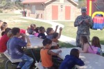 Col. James Suriano reads the 237th Army Birthday story