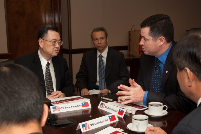U.S. Army, Taiwanese officials discuss science, technology collaboration