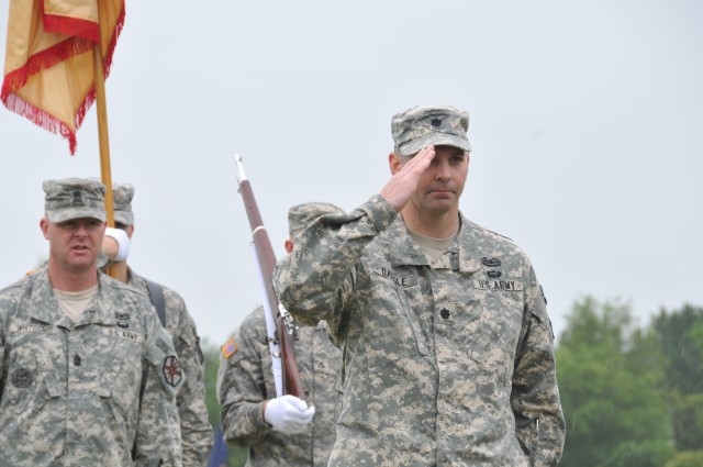Fort A.P. Hill Garrison Change of Command