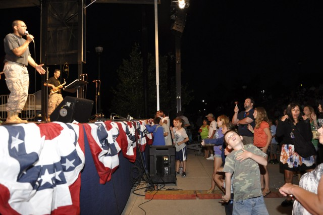 The Army Reserve's 94th Army Rock Band closed out the City of Albany Father's Day and Army Birthday Concert on June 17.  The rock music got many fans out of their seats to dance.