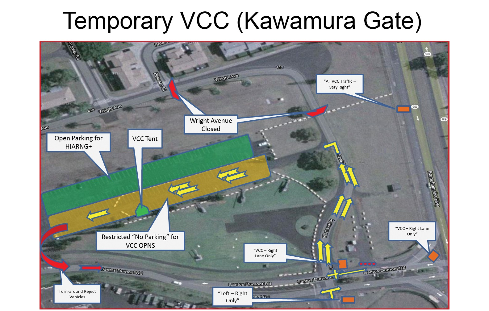 Visitor Control Center, gate changes begin June 30 | Article ... on