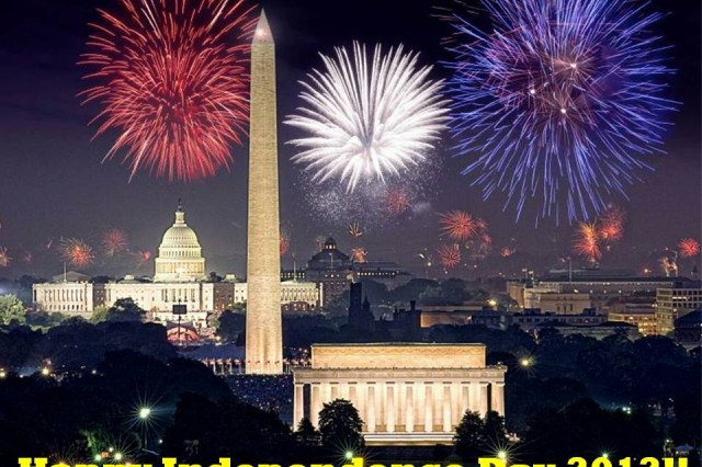 Have a safe and happy Fourth of July! Stay Army Strong!