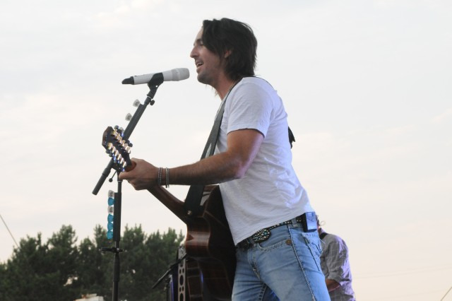 Jake Owen performs for Fort Drum Soldiers and Families June 28 during Mountainfest.