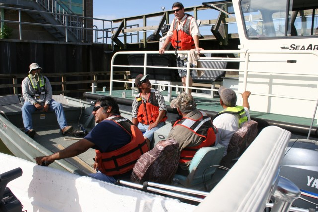 USACE Galveston District boat operators hone their seamanship skills