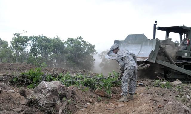 Soldiers Clearing Firebreak