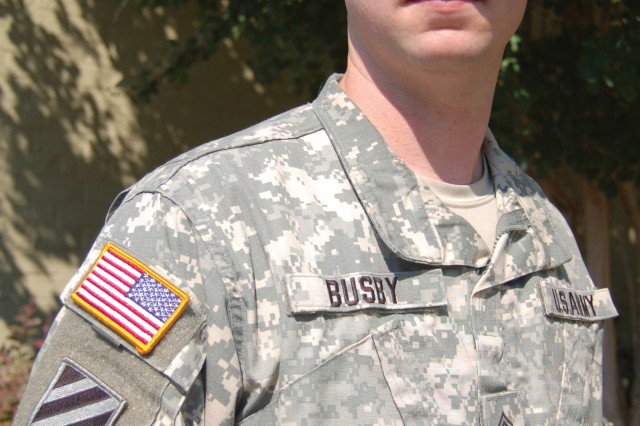 Staff Sgt. Kyle Busby, Columbia Recruiting Battalion
