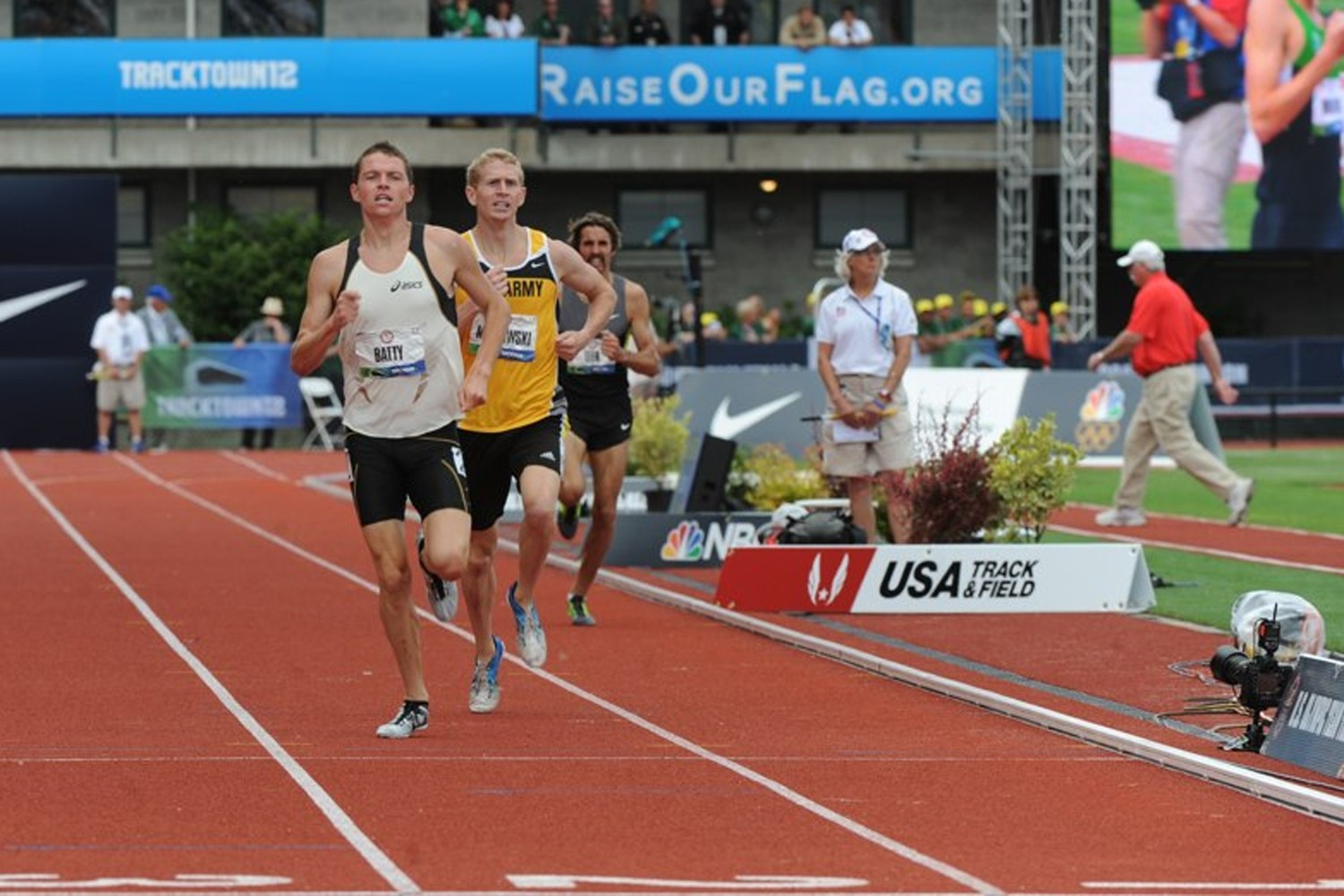 Mickowski makes metric mile final at Olympic track trials ...