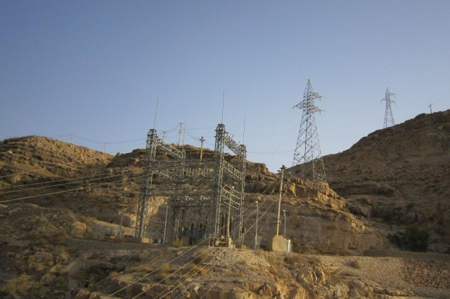 Under a contract awarded by the U.S Army Corps of Engineers, transmission lines will be repaired from the Kajaki Dam substation south to Durai Junction in the Helmand province,Afghanistan.