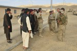 Afghan and American forces deliver humanitarian aid to Shorabak