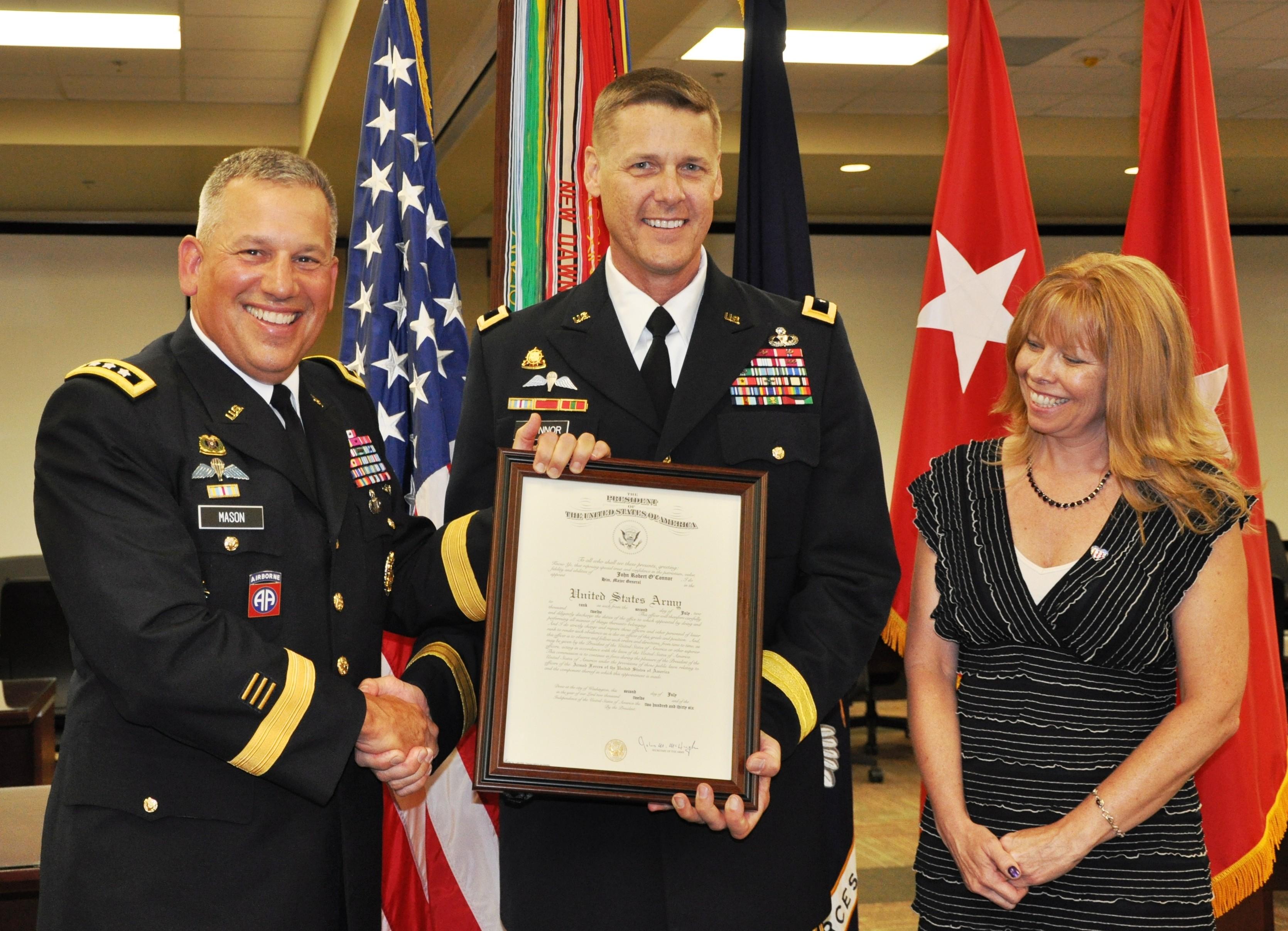 Forscom Logistics Leader Promoted To Major General