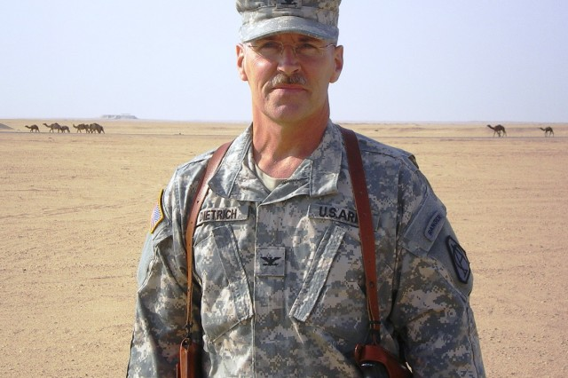 Col. Shane Dietrich was deployed to Kuwait in 2007 to serve as the acquisition adviser to the U.S. Army Central Command Forward.