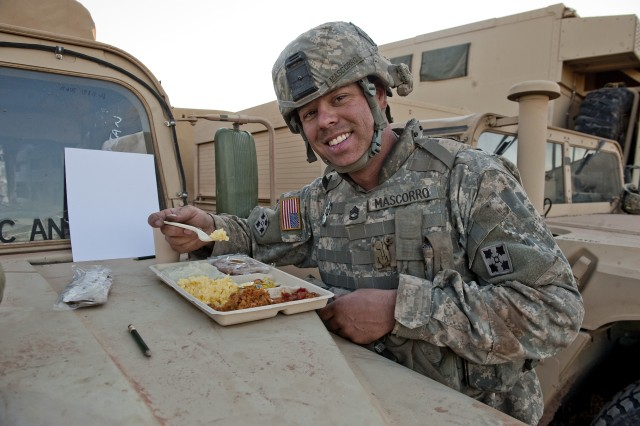 Combat Feeding serves up varied menu