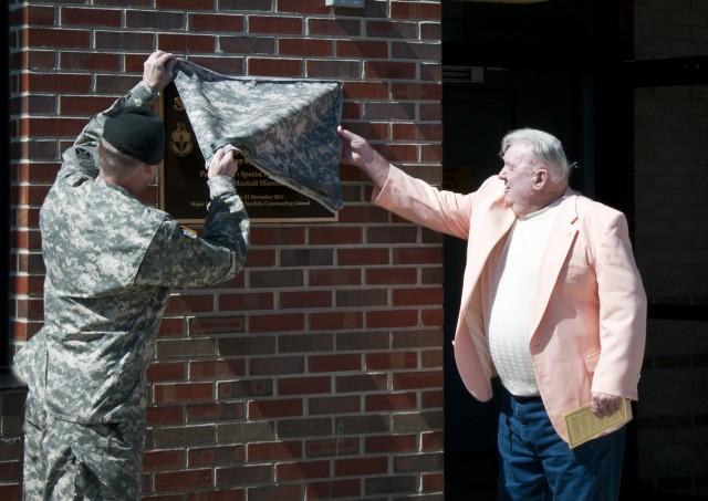 Camp Mackall dedicates facility to long-time range official, Vietnam veteran
