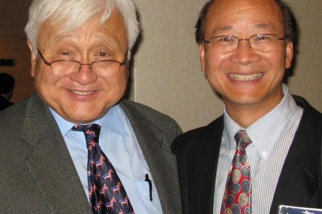 Congressman Michael Honda and Dr. Richard Fu