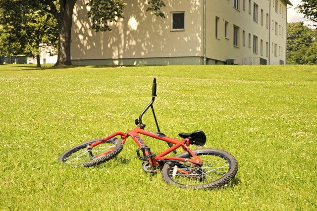 Another way to safeguard property is to keep bike frames locked -- preferably to a solid object and through the bike frame not just the wheel.