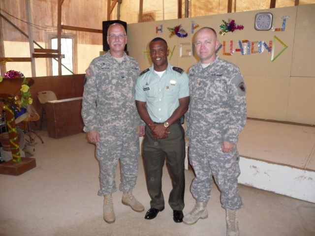 USARAF chaplains conduct combat stress management for AFL