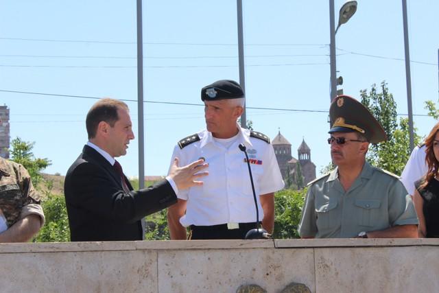 USAREUR Commander travels to Caucasus countries