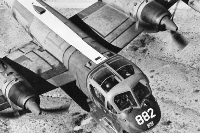 The OV-1A Mohawk was designed specifically for photography. The B model added side-looking airborne radar capability. The C model also used infrared technology. By the end of the Vietnam War, all three models were under operational control of field commanders.