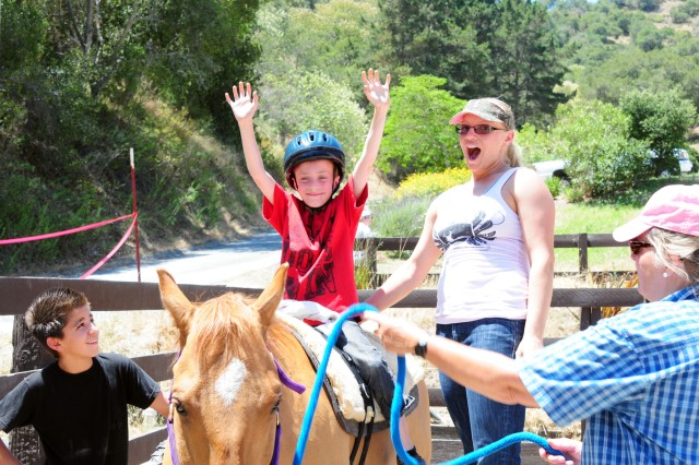 Community kids find hope with horses