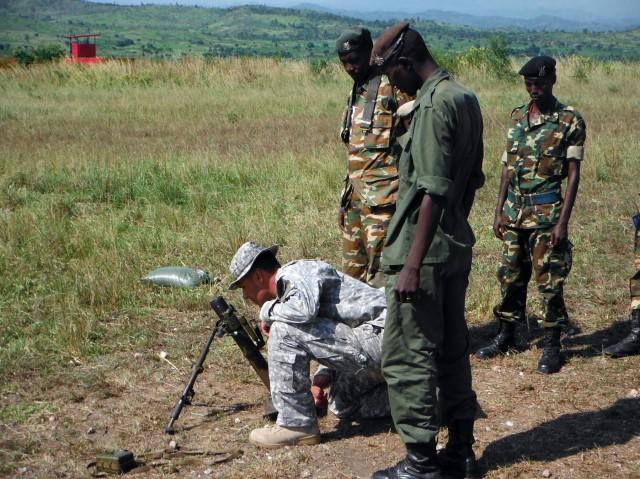 U.S. Army, BNDF mentor Burundi soldiers