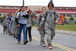 Paratrooper spouses play Army
