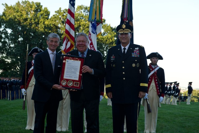 July, 25, 2012: Twilight Tattoo, Army tribute to retiring members of Congressss