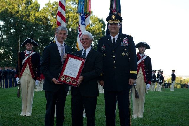 July, 25, 2012: Twilight Tattoo, Army tribute to retiring members of Congress