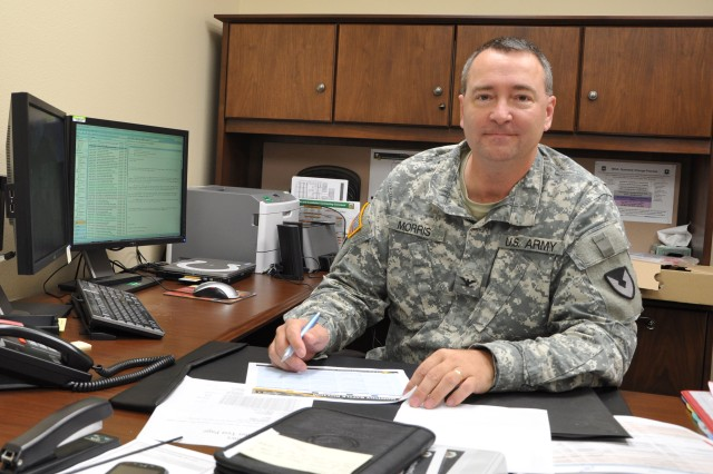 Col. Jeff Morris arrived at the Mission and Installation Contracting Command July 25 as the chief of staff.