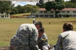 Tripler's staff care for mock casualties during MASCAL exercise Operation Chianti