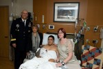 Odierno visits wounded warriors, family members at Walter Reed