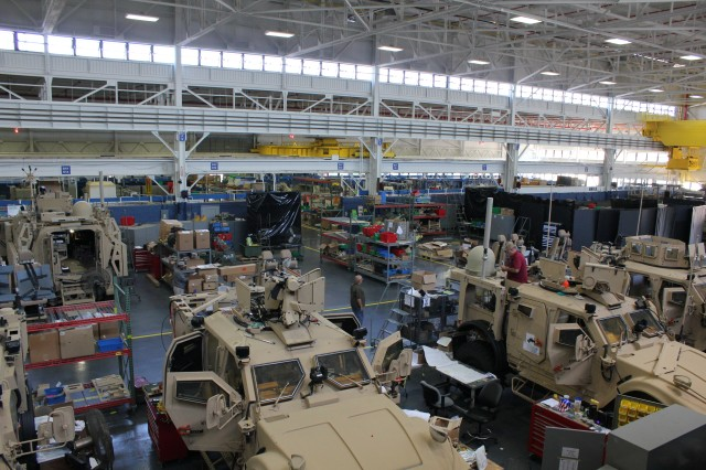 Networked vehicle production in full swing at U.S. Army Detroit Arsenal