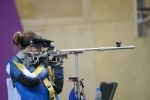 Army wife Gray shooting for Gold