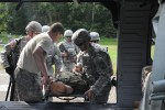 Cadets train with 212th Combat Support Hospital
