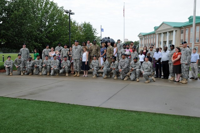 Chief of Staff of the Army Gen. Raymond T. Odierno poses with 30 Dog Face Soldiers from the 3rd Infantry Division at Fort Stewart, Ga., Aug. 6, 2012, after reenlisting them during his first trip to the home of the Marne Division since being sworn in as the 38th Chief of Staff of the Army on Sept. 7, 2011.