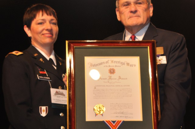 LRMC Receives 2012 VFW Armed Forces Award