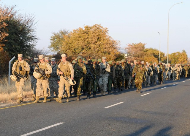 Collective training creates partnership between US and Botswana Forces